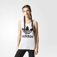 adidas Running Tank Top - White | adidas US