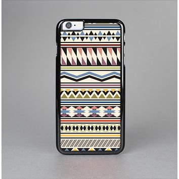 The Tan & Color Aztec Pattern V32 Skin-Sert for the Apple iPhone 6 Skin-Sert Case