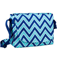 Zigzag Lucite Laptop Messenger Bag - 38551