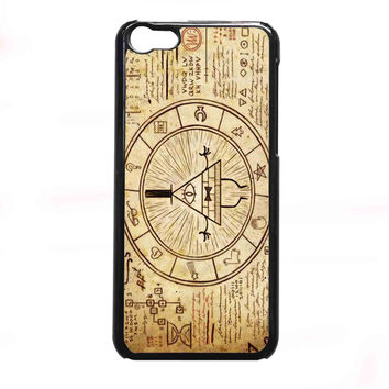 gravity falls treasure map FOR IPHONE 5C CASE *NP*