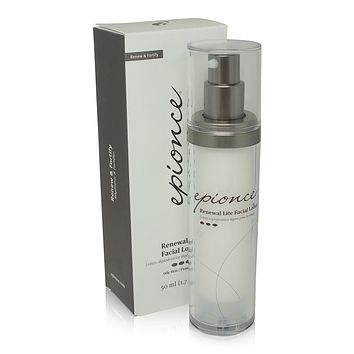Epionce Renewal Lite Facial Lotion Strengthening Skin 1.7 oz.