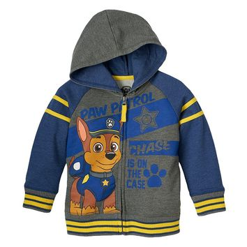 ''Chase Is On The Case'' Paw Patrol Hoodie - Toddler Boy, Size: