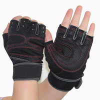 Cycling Fitness Sport Gloves GYM Half Finger Weightlifting Gloves Exercise Training Slip-Resistant Gloves SV001937|26601 = 1745494596