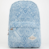 Billabong Hand Over Love Backpack Denim One Size For Women 25622180001