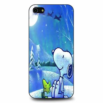 Snoopy Christmas 2 iPhone 5/5s/SE Case