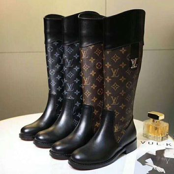 d3c5cd1ee1b LV Louis Vuitton High Quality Autumn Winter Fashion Women Person