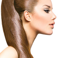 """18"""" Clip In Hair Extensions: No 8 Dirty Blonde"""
