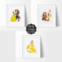 Beauty and the Beast, Set of 3