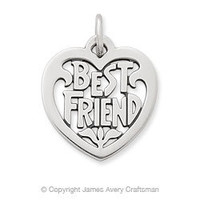 "Heart ""Best Friend"" Charm from James Avery"