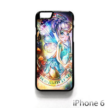 Disney Princess Tinker Bell Galaxy Nebula for Iphone 4/4S Iphone 5/5S/5C Iphone 6/6S/6S Plus/6 Plus Phone case