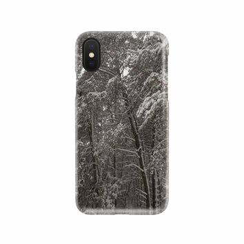 Snow Trees Phone Case