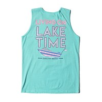 On Lake Time Tank in Chalky Mint by Jadelynn Brooke - FINAL SALE