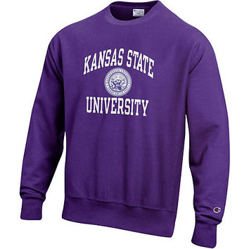 Kansas State University Reverse Weave Crewneck Sweatshirt | Kansas State University - Manhattan and Olathe