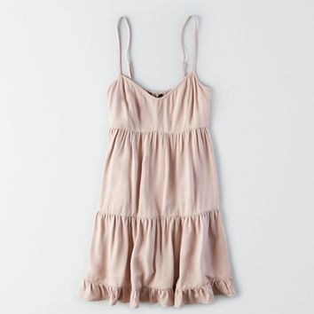 AEO RUFFLED BABYDOLL DRESS