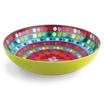 Bindi Melamine Serving Bowl