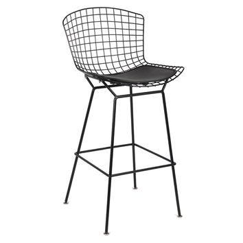 Black Wire Counter Chair