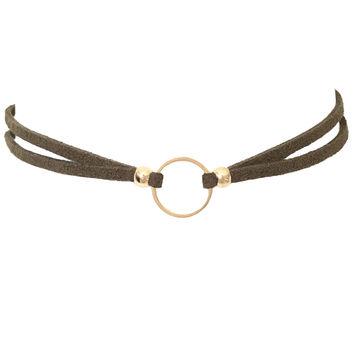 Ring of Fire Choker Olive
