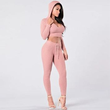 Makayla hooded tracksuit