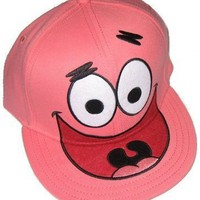 Spongebob Squarepants PATRICK Embroidered Pink Cap HAT