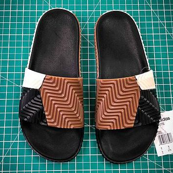 504a443ec Alexander Wang By Adidas Originals Adilette Sandals - Best Onlin