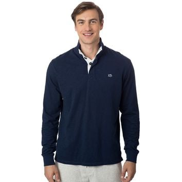 Gulf Stream Lightweight Pullover in True Navy by Southern Tide - FINAL SALE