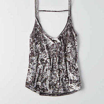 AEO Soft Cami , Washed Black