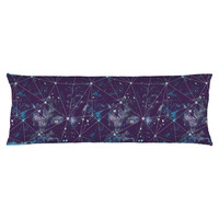 Cosmic Watercolor Body Pillow