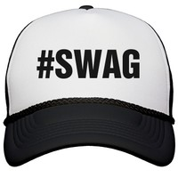 Swag Hat: Custom Valucap Poly-Foam Snapback Trucker Hat - Customized Girl