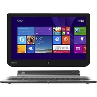 "Toshiba - Satellite Click 2-in-1 13.3"" Touch-Screen Laptop - 4GB Memory - 500GB Hard Drive - Ultimate Silver"