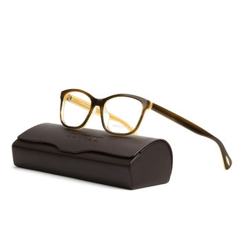 Oliver Peoples OV5194 Follies Eyeglasses 1281 Tortoise Cream 49 mm