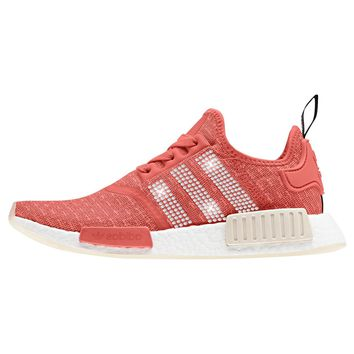 Adidas NMD-R1 + Crystals - Trace Scarlet