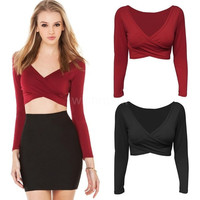 Long Sleeve Tight Top [6259291652]