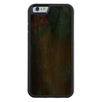 Hot Cool Luxury Turquoise Jewellered Carved® Walnut iPhone 6 Bumper