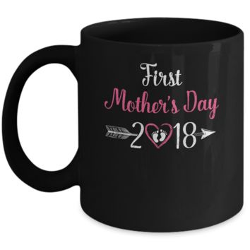 Mommy Mom First Mothers Day 2018 Mug