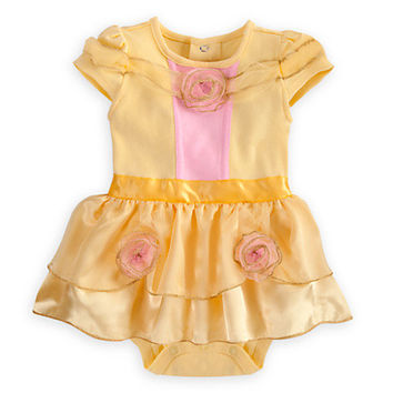 Disney Belle Cuddly Costume Bodysuit for Baby | Disney Store