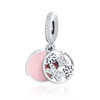 New Collection 925 Sterling Silver Springtime Pendant Charm Pandora Bracelet DIY Jewelry Making Accessories