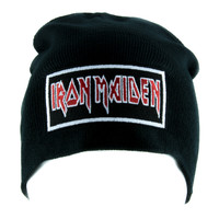 Iron Maiden Beanie Metal Music Knit Cap