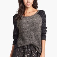 Kenneth Cole New York 'Paiten' Metallic Pullover (Petite) | Nordstrom