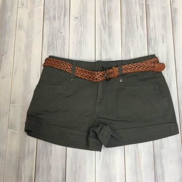 Love in the Sun Shorts - Olive