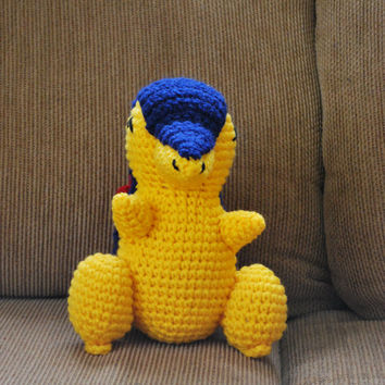 Crochet Cyndaquil Pokemon