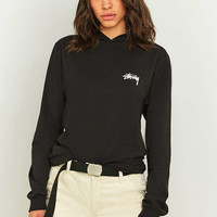 Stussy Long Sleeve Hooded T-Shirt - Urban Outfitters