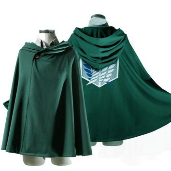 Attack on Titan / Shingeki no Kyojin - Cosplay Cape Cloak