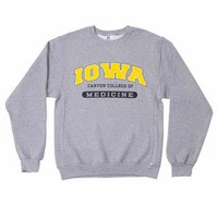 University of Iowa Carver College of Medicine Crewneck Fleece
