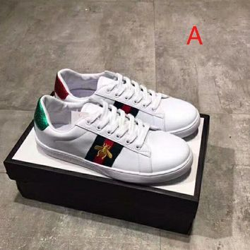 Gucci Embroidery casual shoes
