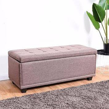 "40"" Storage Ottoman Bench Single Ottoman"