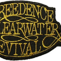 Logo Creedence Clearwater Revival Logo Embroidered Patch John Tom Fogerty Cook