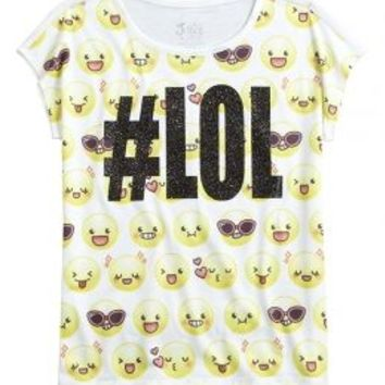 #lol Graphic Tee | Girls {category} {parent_category} | Shop Justice