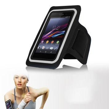 sports running jogging gym arm band  case For Sony Xperia Z Z1 Z2 Z3 Z4 Z5 compact Premium C3 C4 C5 M2 M4 aqua M5 XP T2 T3 E4 E3