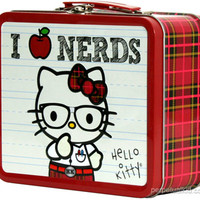 HELLO KITTY I LOVE NERDS LUNCH BOX