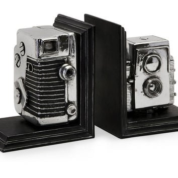 Vintage Camera Bookends - Free Shipping!